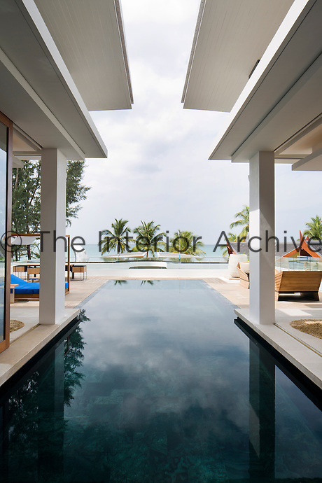 Iniala's exterior features Thai design and is intended to blend into its idyllic surroundings