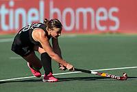 Megan Hull. Pro League Hockey, Vantage Blacksticks Women v Australia, ANZAC Hockey test. North Harbour Hockey Stadium, Auckland, New Zealand. Thursday 25 April 2019. Photo: Simon Watts/Hockey NZ
