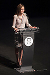 """Princess Letizia of Spain attends """"PREMIOS NACIONALES DE LA MODA"""" fashion awards ceremony at Reina Sofia museum in Madrid, Spain. June 06, 2013. (ALTERPHOTOS/Victor Blanco)"""