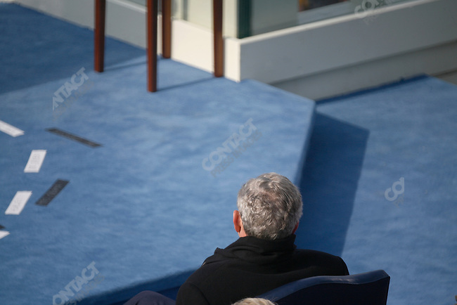 Inauguration of Barack Obama as the 44th President of the United States of America. former President George W. Bush, Washington, D.C., January 20, 2009