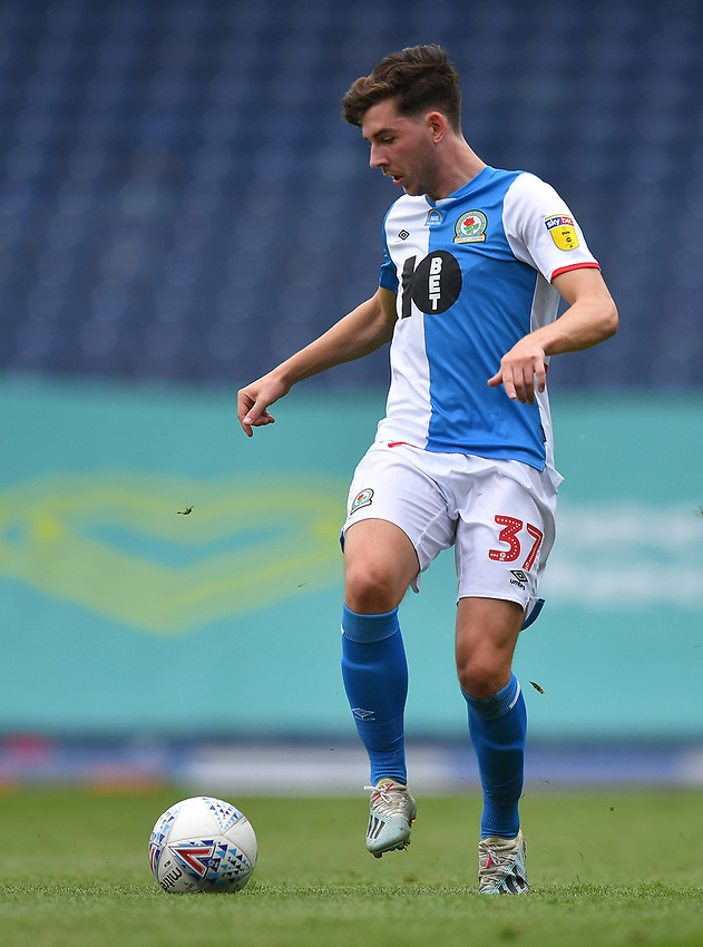 Blackburn Rovers' Joseph Rankin-Costello<br /> <br /> Photographer Dave Howarth/CameraSport<br /> <br /> The EFL Sky Bet Championship - Blackburn Rovers v West Bromwich Albion - Saturday 11th July 2020 - Ewood Park - Blackburn <br /> <br /> World Copyright © 2020 CameraSport. All rights reserved. 43 Linden Ave. Countesthorpe. Leicester. England. LE8 5PG - Tel: +44 (0) 116 277 4147 - admin@camerasport.com - www.camerasport.com