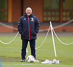 Frank McParland watching the team training