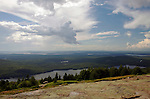 View from the Blue Hill Overlook on Cadillac Mountain, Acadia National Park, Maine, USA