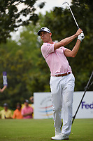 Billy Horschel (USA) watches his tee shot on 8 during round 3 of the WGC FedEx St. Jude Invitational, TPC Southwind, Memphis, Tennessee, USA. 7/27/2019.<br /> Picture Ken Murray / Golffile.ie<br /> <br /> All photo usage must carry mandatory copyright credit (© Golffile | Ken Murray)