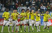 Jugadores de la Seleccion Colombia celebran un gol en la definici&oacute;n por penales  en partido el partido por la Copa America ante Argentina defiinido por penales en Vi&ntilde;a del Mar, Chile, el 26 de junio 2015.<br /> <br /> Foto: Archivolatino<br /> <br /> COPYRIGHT: Archivolatino<br /> No esta permitido su uso sin autorizaci&oacute;n.