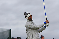 Alvaro Quiros (ESP) on the 17th tee during round 4 of the Alfred Dunhill Links Championship at Old Course St. Andrew's, Fife, Scotland. 07/10/2018.<br /> Picture Thos Caffrey / Golffile.ie<br /> <br /> All photo usage must carry mandatory copyright credit (&copy; Golffile | Thos Caffrey)