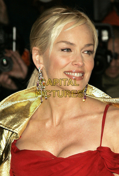 "SHARON STONE.""Basic Instinct 2"" NY Premiere at Loews Lincoln Square Theatre, New York, NY, USA..March 27th, 2006.Photo: Jackson Lee/Admedia/Capital Pictures.Ref: JL/ADM.headshot portrait dangling earrings jewellry.www.capitalpictures.com.sales@capitalpictures.com.© Capital Pictures."