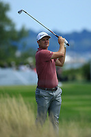 Justin Rose (ENG) during the third round of the Northern Trust, played at Liberty National Golf Club, Jersey City, New Jersey, USA 10/08/2019<br /> Picture: Golffile | Michael Cohen<br /> <br /> All photo usage must carry mandatory copyright credit (© Golffile | Phil Inglis)