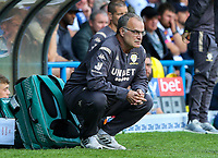 Leeds United manager Marcelo Bielsa watches on<br /> <br /> Photographer Alex Dodd/CameraSport<br /> <br /> The EFL Sky Bet Championship - Leeds United v Swansea City - Saturday 31st August 2019 - Elland Road - Leeds<br /> <br /> World Copyright © 2019 CameraSport. All rights reserved. 43 Linden Ave. Countesthorpe. Leicester. England. LE8 5PG - Tel: +44 (0) 116 277 4147 - admin@camerasport.com - www.camerasport.com