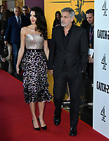 UK premiere of George Clooney's Channel 4 series based on Joseph Heller's novel about a US Air Force bombardier in WWII, at Vue Westfield, London on May 15, 2019.<br /> CAP/JOR<br /> ©JOR/Capital Pictures