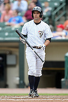 Empire State Yankees second baseman Kevin Russo #7 during a game against the Durham Bulls at Frontier Field on May 13, 2012 in Rochester, New York.  Durham defeated Empire State 3-1.  (Mike Janes/Four Seam Images)