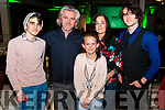 Kerry Film Festival Awards night in the Gleneagle Hotel, Killarney last Saturday night. Pictured are l-r Archie, Mauric, Lila Grace, Catherine and Gabriel Galway all from Firies.