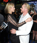 Rosamund Pike and Simon Pegg <br />  at The Focus Features L.A. Premiere of The World's End held at The Cinerama Dome in Hollywood, California on August 21,2013                                                                   Copyright 2013 Hollywood Press Agency