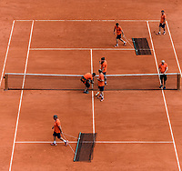 AMBIENCE<br /> <br /> TENNIS - FRENCH OPEN - ROLAND GARROS - ATP - WTA - ITF - GRAND SLAM - CHAMPIONSHIPS - PARIS - FRANCE - 2018  <br /> <br /> <br /> <br /> &copy; TENNIS PHOTO NETWORK