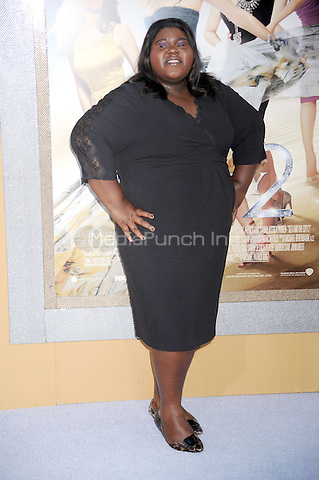 Gabourey Sidibe at the film premiere of 'Sex and the City 2' at Radio City Music Hall in New York City. May 24, 2010.Credit: Dennis Van Tine/MediaPunch