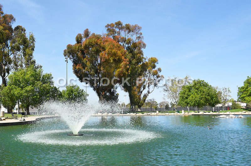 Heritage Park Pond and Fountain