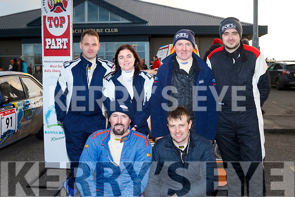 Kerry drivers did well to finish 3rd, 4th & 5th Overall in last weekends rally at Banna, front were Maurice McElligott&Tom Relihan, Escort Mk1, 3rd OA, back L-R Tim Enright&Darina Joyce, Escort MK2 4th OA and Mike Quinn&Tony Healy, Escort MK2, 5th OA.
