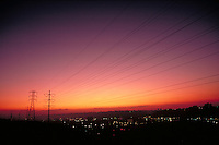 Power Lines, utility wires, landscape, telecommunications, electricity, electrical structures, conduits.