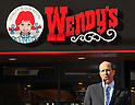 December 27, 2011, Tokyo, Japan - U.S. Ambassador to Japan John Roos makes his statement, celebrating the re-launch of Wendys fast-food restaurant in Tokyo on Tuesday, December 27, 2011. In December 2009, Wendys did not renew its franchise agreement with its former franchisee for Japan, resulting in the closure of 71 restaurants. Wendys and Higa Industries, a successful food importer and distributor based in Tokyo, signed a joint venture agreement to develop and operate Wendys restaurants in Japan. Wendys Japan plans to open 100 stores in the next five years. (Photo by Natsuki Sakai/AFLO) [3615] -mis-