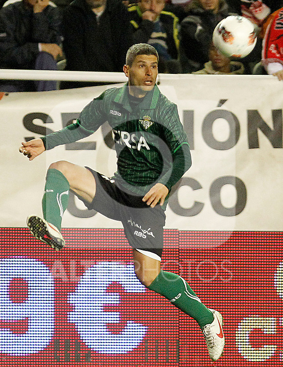 Betis' Salva Sevilla during La Liga match.March 17,2012. (ALTERPHOTOS/Acero)
