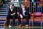 S&ouml;dert&auml;lje 2015-10-20 Basket Basketligan S&ouml;dert&auml;lje Kings - Bor&aring;s Basket :  <br /> Bor&aring;s head coach Patrick Pat Ryan och assistant coach Jonas Larsson deppar i slutet av matchen mellan S&ouml;dert&auml;lje Kings och Bor&aring;s Basket <br /> (Foto: Kenta J&ouml;nsson) Nyckelord:  S&ouml;dert&auml;lje Kings SBBK T&auml;ljehallen Bor&aring;s Basket depp besviken besvikelse sorg ledsen deppig nedst&auml;md uppgiven sad disappointment disappointed dejected tr&auml;nare manager coach