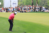 Sihwan Kim (USA) during the final round of the Volvo China Open played at Topwin Golf and Country Club, Huairou, Beijing, China 26-29 April 2018.<br /> 29/04/2018.<br /> Picture: Golffile | Phil Inglis<br /> <br /> <br /> All photo usage must carry mandatory copyright credit (&copy; Golffile | Phil Inglis)