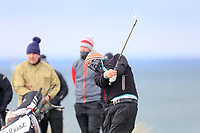 Robert Brazill (Naas) during the 3rd round of matchplay at the 2018 West of Ireland, in Co Sligo Golf Club, Rosses Point, Sligo, Co Sligo, Ireland. 02/04/2018.<br /> Picture: Golffile | Fran Caffrey<br /> <br /> <br /> All photo usage must carry mandatory copyright credit (&copy; Golffile | Fran Caffrey)