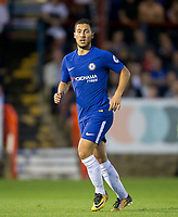 Eden Hazard of Chelsea during the U23 Premier League 2 match between Chelsea and Everton at the EBB Stadium, Aldershot, England on 25 August 2017. Photo by Andy Rowland.
