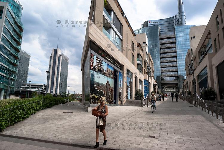 Milano, Porta Nuova Garibaldi