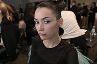 SEP 2018 Zang Toi - Backstage New York Fashion Week