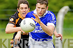 Paul Kennelly Shannon Rangers in action against Austin Stacks in the First Round of the Kerry Senior Football Championship at O'Rahilly Park Ballylongford on Sunday.