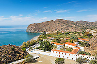 The monastery Agia Markella in Chios island, Greece