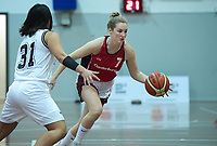 Action from the 2019 Women's Basketball League division two match between North Canterbury Spirit and Harbour Zephyr at Cowles Stadium in Christchurch, New Zealand on Sunday, 12 May 2019. Photo: Dave Lintott / lintottphoto.co.nz