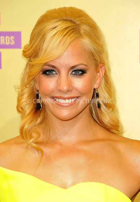 WWW.ACEPIXS.COM....September 6, 2012, Los Angeles, CA.......Amy Paffrath arriving at the 2012 MTV Video Awards at the Staples Center on September 6, 2012 in Los Angeles, California. ..........By Line: Peter West/ACE Pictures....ACE Pictures, Inc..Tel: 646 769 0430..Email: info@acepixs.com
