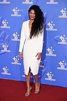 LONDON, UK. September 21, 2018: Vick Hope at the National Lottery Awards 2018 at the BBC Television Centre, London.<br /> Picture: Steve Vas/Featureflash