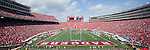 A panoramic view of Camp Randall Stadium during the Wisconsin Badgers NCAA college football game against the San Jose State Spartans on September 11, 2010 at Camp Randall Stadium in Madison, Wisconsin. The Badgers beat San Jose State 27-14. (Photo by David Stluka)
