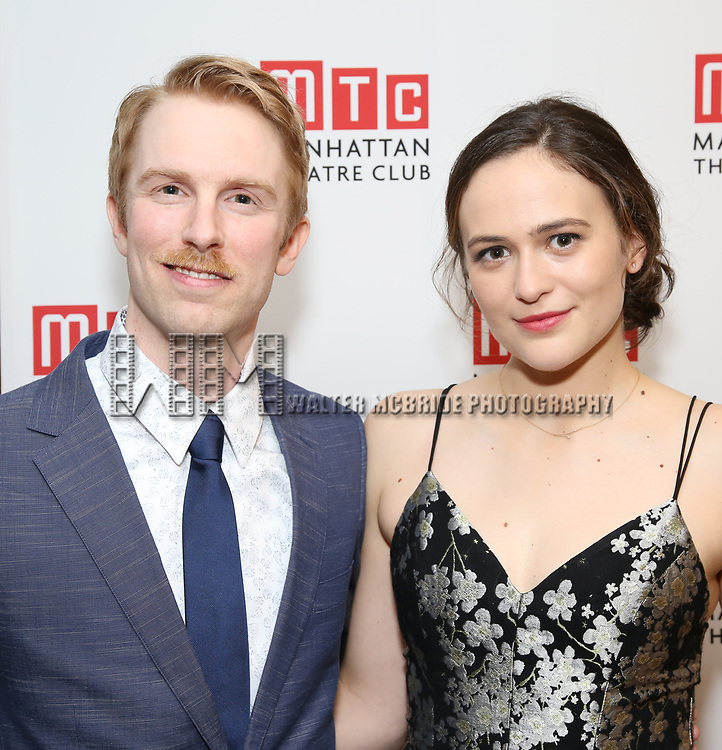 Michael Benz and Francesca Carpanini attending the Broadway Opening Night After Party for 'The Little Foxes' at the Copacabana on April 19, 2017 in New York City.