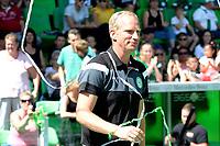 GRONINGEN - Voetbal, Open dag FC Groningen ,  seizoen 2017-2018, 06-08-2017,  FC Groningen assistent trainer Peter Hoekstra