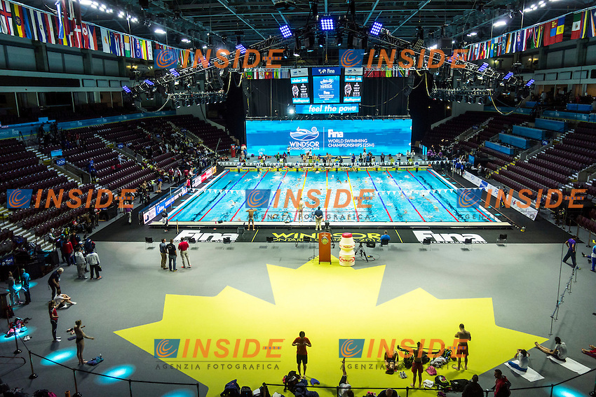 Panoramic View <br /> 13th Fina World Swimming Championships 25m <br /> Windsor  Dec. 6th, 2016 - Day01<br /> WFCU Centre - Windsor Ontario Canada CAN <br /> 20161206 WFCU Centre - Windsor Ontario Canada CAN <br /> Photo &copy; Giorgio Scala/Deepbluemedia/Insidefoto