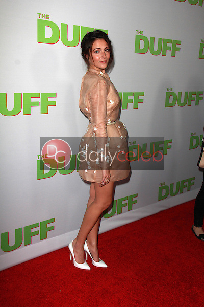 Italia Ricci<br /> at &quot;The Duff&quot; Los Angeles Premiere, Chinese 6, Hollywood, CA 02-12-15<br /> David Edwards/DailyCeleb.com 818-249-4998