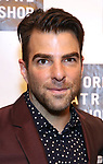 Zachary Quinto attends the 2018 New York Theatre Workshop Gala at the The Altman Building on April 16, 2018 in New York City