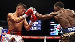 Jhonatan Romero vencio a Alejandro Lopez coronadose campeon de la federacion internacional de boxeo de las 122  libras
