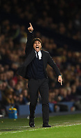 Antonio Conte Chelsea manager during the Premier League match between West Bromwich Albion and Chelsea played at The Hawthorns Stadium, West Bromwich on 12th May 2017 / Football - Premier League 2016/17 West Bromwich Albion v Chelsea Hawthorns, The, Birmingham Rd, West Bromwich, United Kingdom 12 May 2017 <br /> Il Chelsea allenato da Antonio Conte vince la Premier League <br /> Foto Bpi/Imago/Insidefoto <br /> ITALY ONLY