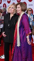 "HOLLYWOOD, LOS ANGELES, CA, USA - APRIL 10: Kim Novak, Diane Baker at the 2014 TCM Classic Film Festival - Opening Night Gala Screening of ""Oklahoma!"" held at TCL Chinese Theatre on April 10, 2014 in Hollywood, Los Angeles, California, United States. (Photo by David Acosta/Celebrity Monitor)"