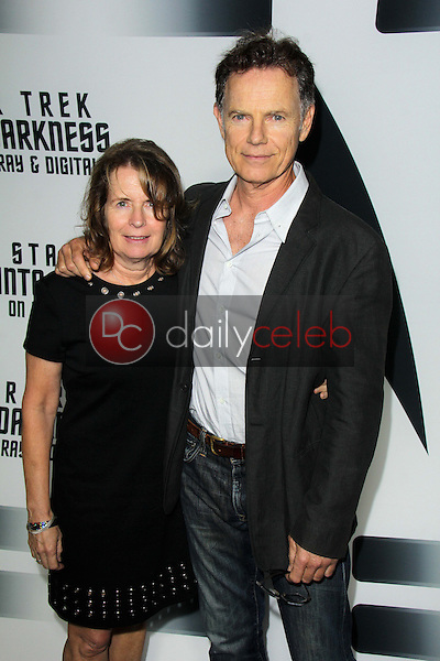 Bruce Greenwood and wife<br />