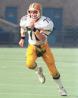 Brian Kelly Edmonton Eskimos 1984. Copyright photograph Scott Grant/