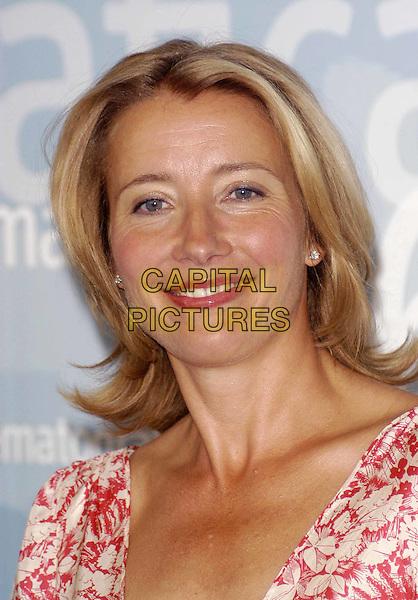 EMMA THOMPSON.Venice Film Festival.headshot, portrait.www.capitalpictures.com.sales@capitalpictures.com.©Capital Pictures