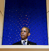 United States President Barack Obama delivers remarks at Adas Israel Congregation in celebration of Jewish American Heritage Month, on Friday May 22, 2015, in Washington, DC.<br /> Credit: Aude Guerrucci / Pool via CNP