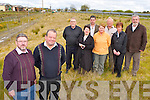 Resident's from Laharn, Killorglin who are asking the Council improve the landscape of the land   beside the main road into Killorglin town front l-r: John Whelan and Michael O'Shea, back Mick O'Leary, Mary Whelan, Johnny Rae, Bridie Moriarty, Paddy Moriarty, Ann O'Sullivan, Jack O'Sullivan..