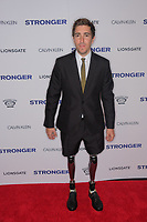 www.acepixs.com<br /> <br /> September 14 2017, New York City<br /> <br /> Jeff Bauman arriving at the premiere of 'Stronger'  at the Walter Reade Theater on September 14, 2017 in New York City.<br /> <br /> By Line: Curtis Means/ACE Pictures<br /> <br /> <br /> ACE Pictures Inc<br /> Tel: 6467670430<br /> Email: info@acepixs.com<br /> www.acepixs.com